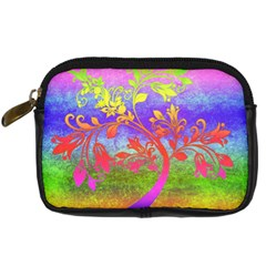 Tree Colorful Mystical Autumn Digital Camera Cases by Nexatart