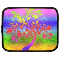 Tree Colorful Mystical Autumn Netbook Case (xl)