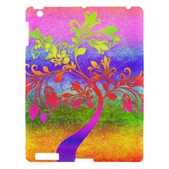 Tree Colorful Mystical Autumn Apple Ipad 3/4 Hardshell Case by Nexatart