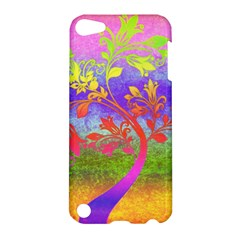 Tree Colorful Mystical Autumn Apple Ipod Touch 5 Hardshell Case