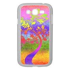 Tree Colorful Mystical Autumn Samsung Galaxy Grand Duos I9082 Case (white) by Nexatart