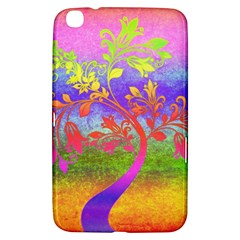 Tree Colorful Mystical Autumn Samsung Galaxy Tab 3 (8 ) T3100 Hardshell Case  by Nexatart