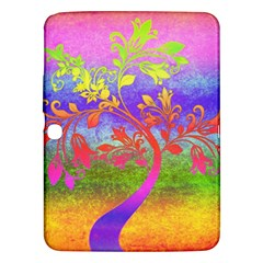 Tree Colorful Mystical Autumn Samsung Galaxy Tab 3 (10 1 ) P5200 Hardshell Case  by Nexatart