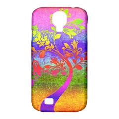 Tree Colorful Mystical Autumn Samsung Galaxy S4 Classic Hardshell Case (pc+silicone)