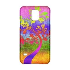 Tree Colorful Mystical Autumn Samsung Galaxy S5 Hardshell Case  by Nexatart