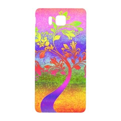 Tree Colorful Mystical Autumn Samsung Galaxy Alpha Hardshell Back Case by Nexatart