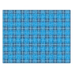 The Checkered Tablecloth Rectangular Jigsaw Puzzl