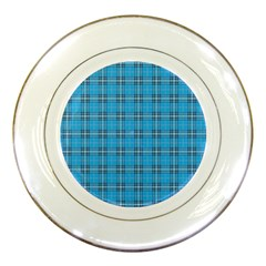 The Checkered Tablecloth Porcelain Plates
