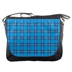 The Checkered Tablecloth Messenger Bags by Nexatart