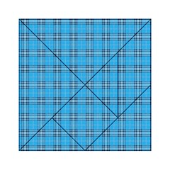 The Checkered Tablecloth Acrylic Tangram Puzzle (6  X 6 ) by Nexatart