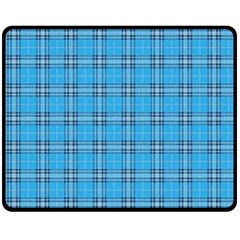 The Checkered Tablecloth Double Sided Fleece Blanket (medium)
