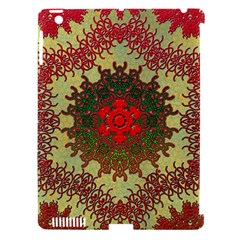Tile Background Image Color Pattern Apple Ipad 3/4 Hardshell Case (compatible With Smart Cover)