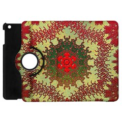 Tile Background Image Color Pattern Apple Ipad Mini Flip 360 Case