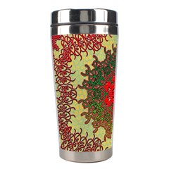 Tile Background Image Color Pattern Stainless Steel Travel Tumblers