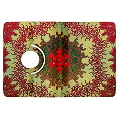 Tile Background Image Color Pattern Kindle Fire Hdx Flip 360 Case by Nexatart