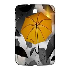 Umbrella Yellow Black White Samsung Galaxy Note 8 0 N5100 Hardshell Case