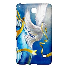 Turtle Doves Christmas Samsung Galaxy Tab 4 (8 ) Hardshell Case  by Nexatart