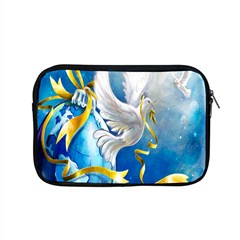 Turtle Doves Christmas Apple Macbook Pro 15  Zipper Case by Nexatart