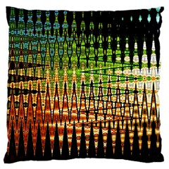 Triangle Patterns Large Cushion Case (two Sides) by Nexatart