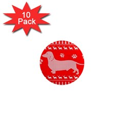 Ugly X Mas Design 1  Mini Magnet (10 Pack)  by Nexatart