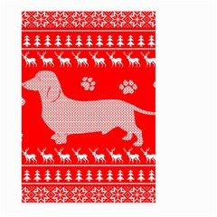Ugly X Mas Design Large Garden Flag (two Sides)