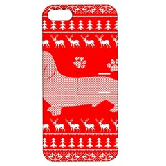 Ugly X Mas Design Apple Iphone 5 Hardshell Case With Stand