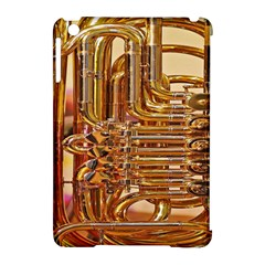 Tuba Valves Pipe Shiny Instrument Music Apple Ipad Mini Hardshell Case (compatible With Smart Cover)