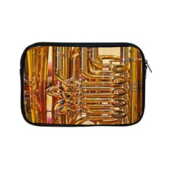 Tuba Valves Pipe Shiny Instrument Music Apple Ipad Mini Zipper Cases