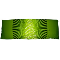 Vector Chirstmas Tree Design Body Pillow Case (dakimakura)
