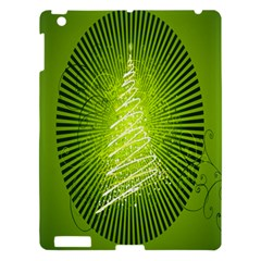 Vector Chirstmas Tree Design Apple Ipad 3/4 Hardshell Case by Nexatart