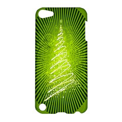 Vector Chirstmas Tree Design Apple Ipod Touch 5 Hardshell Case by Nexatart