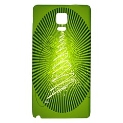 Vector Chirstmas Tree Design Galaxy Note 4 Back Case