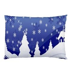 Vector Christmas Design Pillow Case