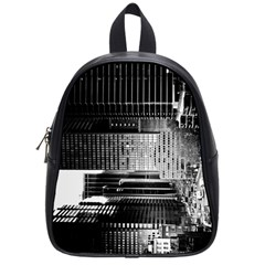 Urban Scene Street Road Busy Cars School Bags (small)  by Nexatart