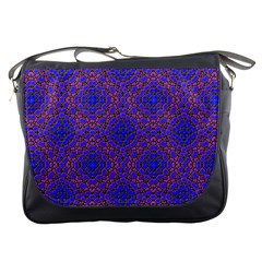 Tile Background Image Pattern Messenger Bags