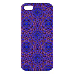 Tile Background Image Pattern Apple Iphone 5 Premium Hardshell Case