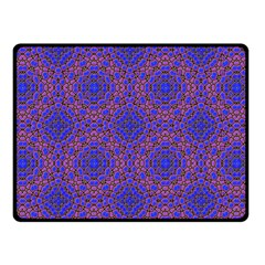 Tile Background Image Pattern Double Sided Fleece Blanket (small)