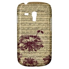 Vintage Music Sheet Song Musical Galaxy S3 Mini by Nexatart