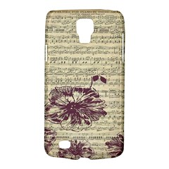 Vintage Music Sheet Song Musical Galaxy S4 Active by Nexatart
