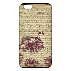 Vintage Music Sheet Song Musical Iphone 6 Plus/6s Plus Tpu Case by Nexatart