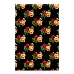 Vintage Roses Wallpaper Pattern Shower Curtain 48  X 72  (small)  by Nexatart