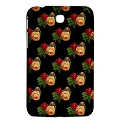 Vintage Roses Wallpaper Pattern Samsung Galaxy Tab 3 (7 ) P3200 Hardshell Case