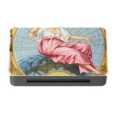 Vintage Art Collage Lady Fabrics Memory Card Reader with CF