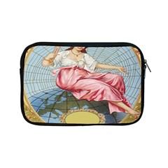 Vintage Art Collage Lady Fabrics Apple iPad Mini Zipper Cases