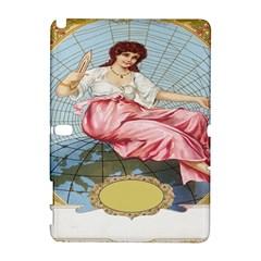 Vintage Art Collage Lady Fabrics Galaxy Note 1