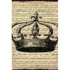Vintage Music Sheet Crown Song 5 5  X 8 5  Notebooks by Nexatart