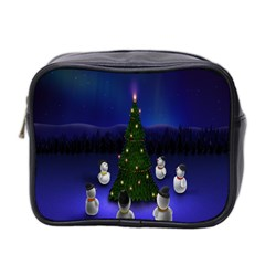 Waiting For The Xmas Christmas Mini Toiletries Bag 2 Side