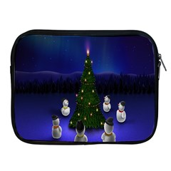 Waiting For The Xmas Christmas Apple Ipad 2/3/4 Zipper Cases