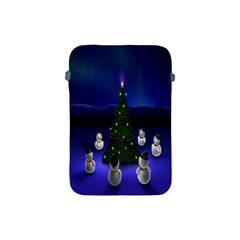 Waiting For The Xmas Christmas Apple Ipad Mini Protective Soft Cases by Nexatart