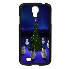 Waiting For The Xmas Christmas Samsung Galaxy S4 I9500/ I9505 Case (black)